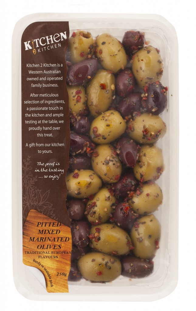 Pitted Mixed marinated Olives