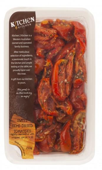 Sweet Semi dried Tomatoes