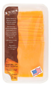 Red American Cheddar 200g Slices