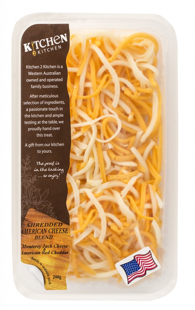 Shredded American Cheese