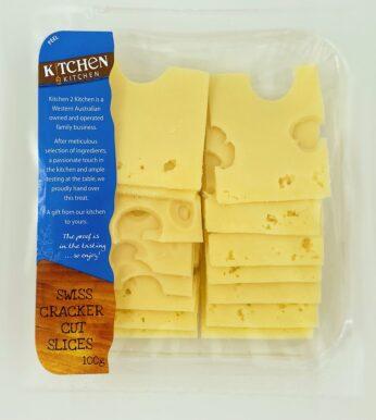 swiss cheese cracker cuts